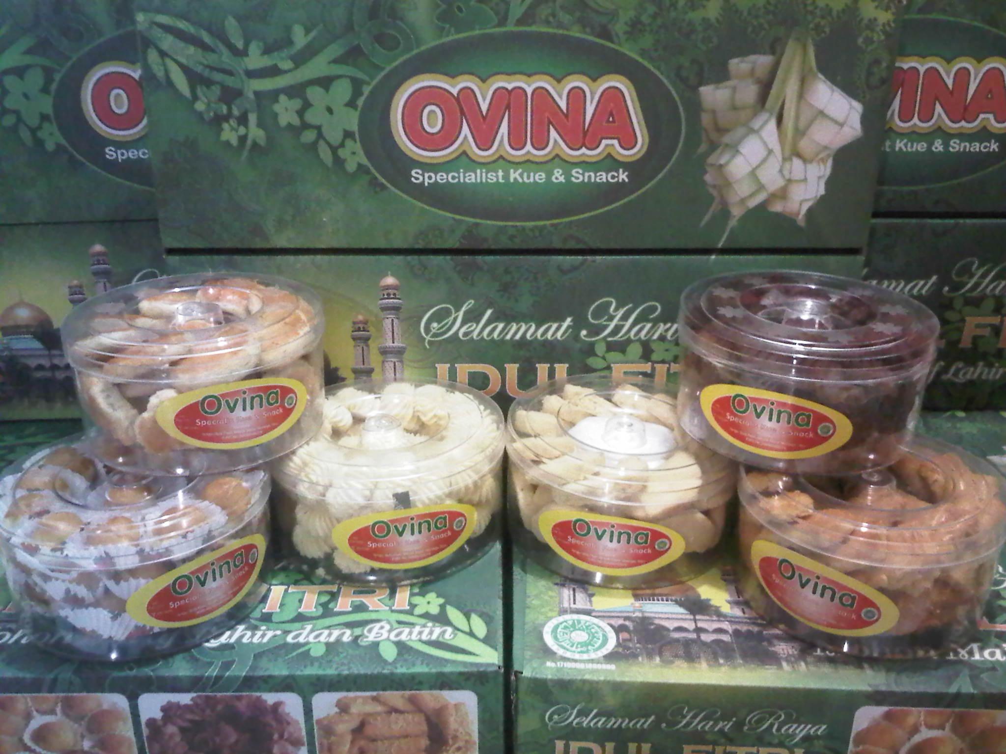 Kue Kering Lebaran Ovina Cookies